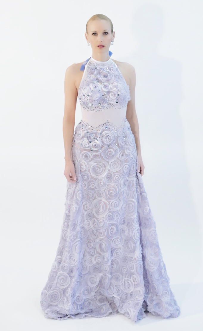 Couture Blue Ribbon Gown – BABETTE BROWN